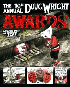 Alex Fellows 20-14 Doug Wright Awards poster!